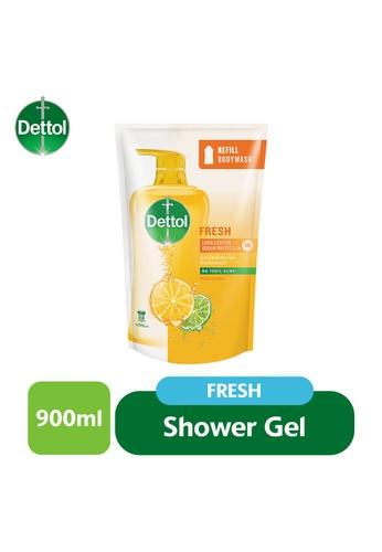 Dettol Dettol Shower Gel Fresh Refill Pouch 900G (J) 3A69BES9501218GS_1