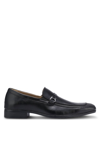 Bata black Slip On Dress Shoes BA156SH0RCVRMY_1