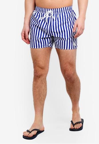 3087b9ff6a Buy Topman Stripe Swim Shorts Online on ZALORA Singapore