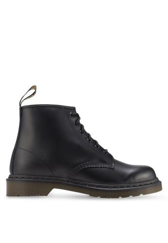 Dr. Martens black Core Originals 6-Eye Boots DR086SH83ITOSG_1