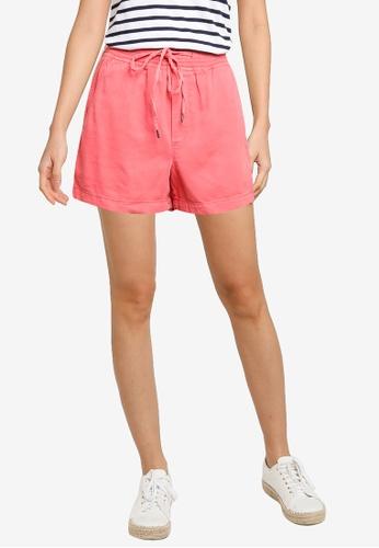 GAP pink Pull-On Shorts EC451AA8ADD192GS_1