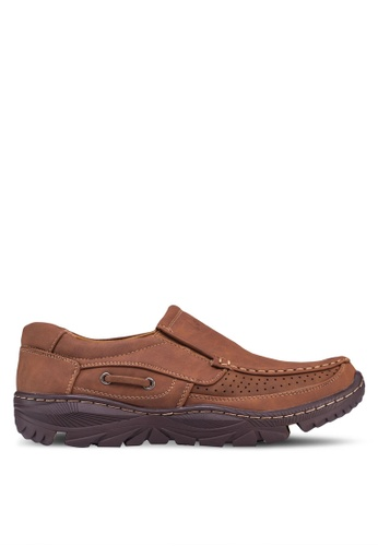 Louis Cuppers brown Casual Loafers LO977SH94ZXHMY_1