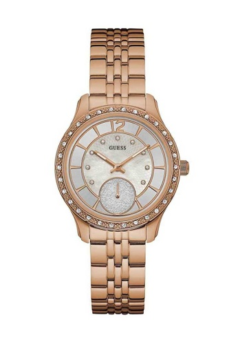 Guess Watch pink Guess Whitney Rose Gold Stainless Steel Watch GU514AC16SOHHK_1