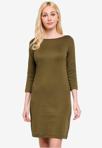 GAP green Modern Shift Dress 4DA67AA73C18B1GS_1