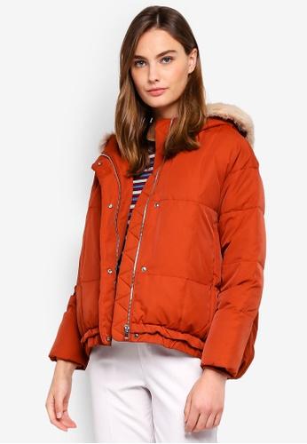 ESPRIT brown Outdoor Woven Regular Jacket D7664AA2E1A128GS_1