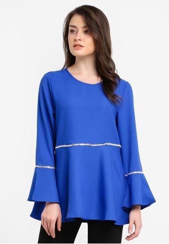 BYN blue Muslimah Blouse BY059AA0S0Y9MY_1
