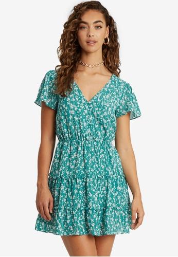 Sável green Clifton Dress 85CFBAAA1812AEGS_1