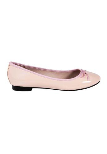 MAUD FRIZON pink Patent PU Ballerina DAFA2SH35BBCABGS_1