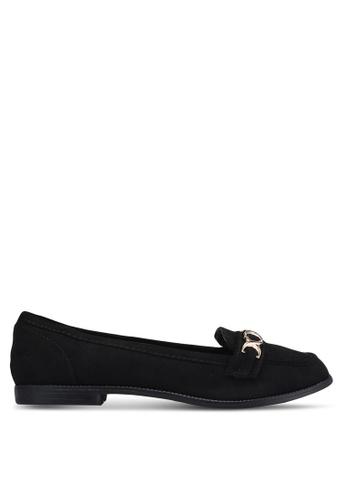 Dorothy Perkins black Black Lydia Chain Loafers DO816SH0RJR4MY_1