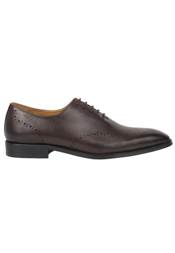 Tomaz brown Tomaz F121 Formal Lace Up (Coffee) 0BEDBSH1837EAFGS_1