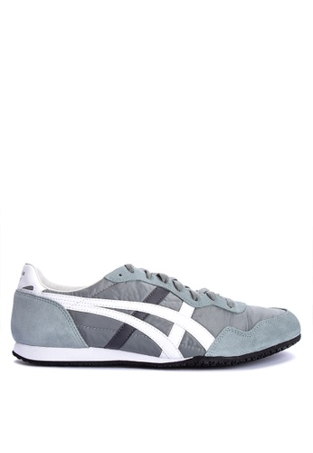 Onitsuka Tiger grey and multi Serrano Sneakers 149BESH223A157GS_1