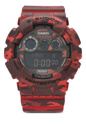 G esprit chinaShock GD-120CM-4DRR 迷彩限量版運動錶, 錶類, 飾品配件