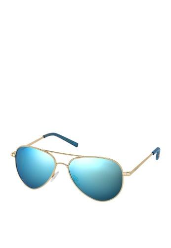 Polaroid gold Polaroid 6012/N Sunglasses E286AGLF9CF971GS_1