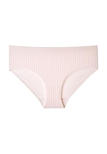 6IXTY8IGHT pink GEORGIE SOLID, Circular Knit Hiphugger Panty PT09907 6D230US40C7818GS_1