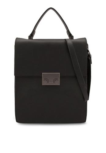 ZALORA black Pushlock Portraitslingbag F6CC0AC095B766GS_1