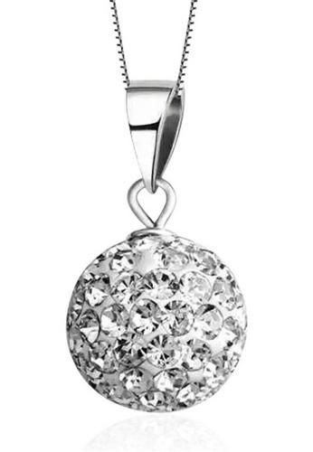 LYCKA silver LPP88180 S925 Silver Necklace ED85BAC5EBFF5EGS_1