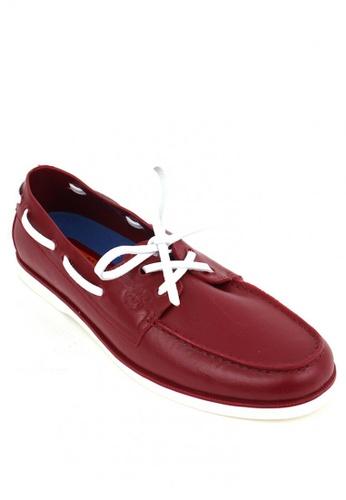 Easy Soft By World Balance red Malibu Boat Shoes CC042SH1F7F87EGS_1