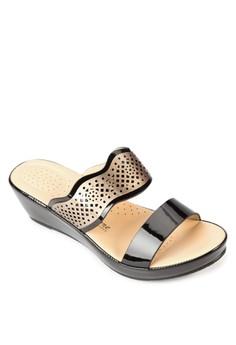Mia Wedge Slides
