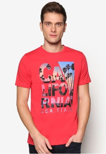 zalora 台灣圖文設計短袖TEE, 服飾, 印圖T恤