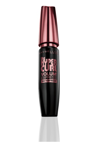 Maybelline black VolumExpress Hypercurl Mascara MA673BE03FHOPH_1