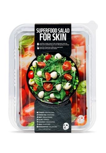 FARMSKIN Farmskin Facial Sheet Mask Superfood Salad Set (Tomato) (7 Pcs) 53063BE723802EGS_1