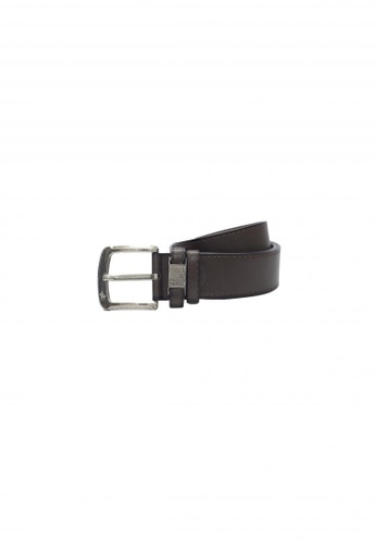 POLOVENZI brown Polovenzi Men Leather Belt 5044CAC31B0493GS_1