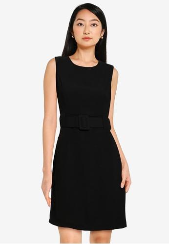 KOTON black Belted Dress 3C64EAA9EF08A3GS_1