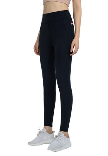 B-Code black ZWG1109-Lady Quick Drying Running Fitness Yoga Leggings-Black F4E59AA5050A06GS_1