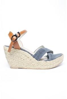 Katrina Canvass Espadrille Wedge Sandals