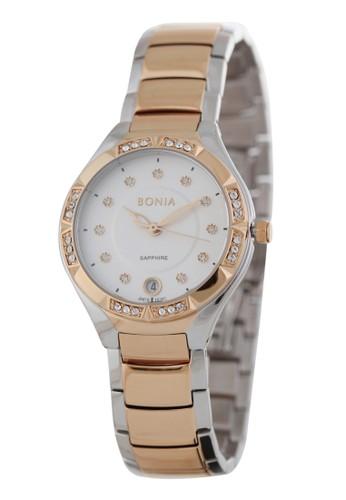 BONIA silver Bonia BP10397-2617S - Jam Tangan Wanita - Silver Rosegold CA0E7AC90511E6GS_1