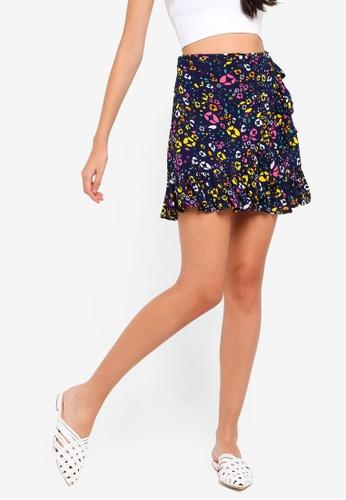 Supre multi Frill Wrap Mini Skirt 5BF3CAA7B5716EGS_1
