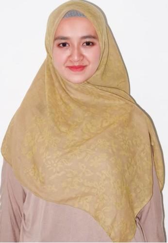 Anggiasari Mawardi yellow Batik Square Mustard Abstract 041F0AAC67BB31GS_1