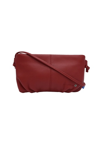 EXTREME red Extreme Leather Sling Bag (iPhone 8 Plus) 919E6AC735FDB6GS_1