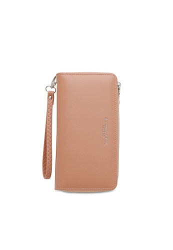 Bethany Roma pink Bethany Roma Long Wallet - Pink 92809ACE56C45EGS_1