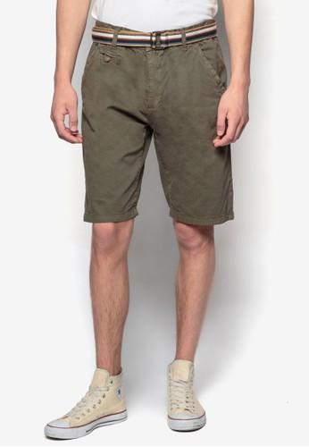 Resprit home 台灣oyce 腰帶休閒短褲, 服飾, 服飾