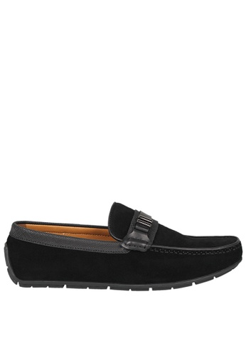 Tomaz black Tomaz C336 Front Buckled Loafers (Black) 99765SH0F0A4C6GS_1