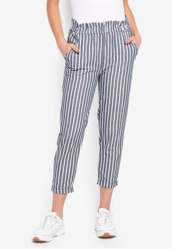 Cotton On blue Abigaile High Waist Paperbag Pants 3A963AACA686BDGS_1