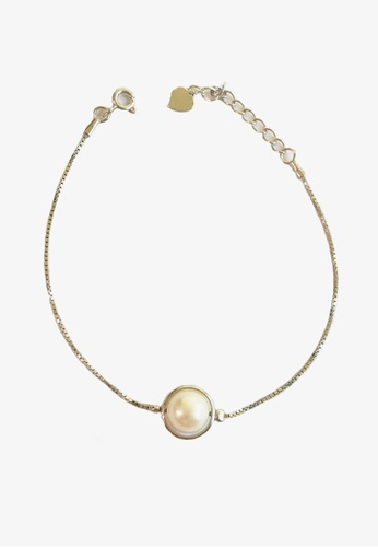 Miliyah Co silver Pearl Bracelet D6886AC7CC1B04GS_1