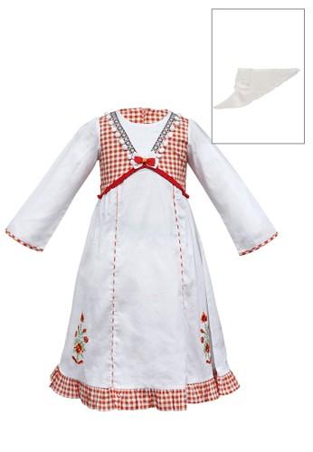 ODAIBA white and red Muslim Anak-ODM 07 2/8 B E0784KA435AE26GS_1