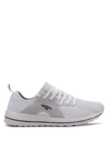 AMBROS grey Ramble Sneakers AM821SH0S14GMY_1