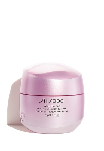 Shiseido pink White Lucent Overnight Cream and Mask, 75ml BEB41BE7FCBA53GS_1