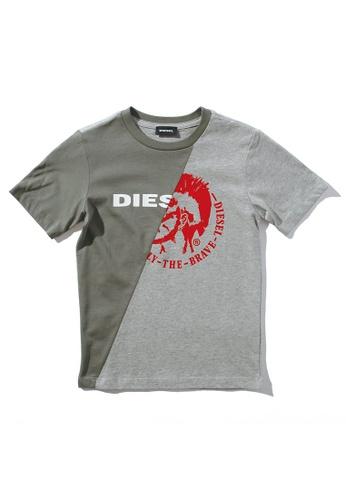 Diesel Dual Color T-shirt 7D438KAE5C3DBBGS_1