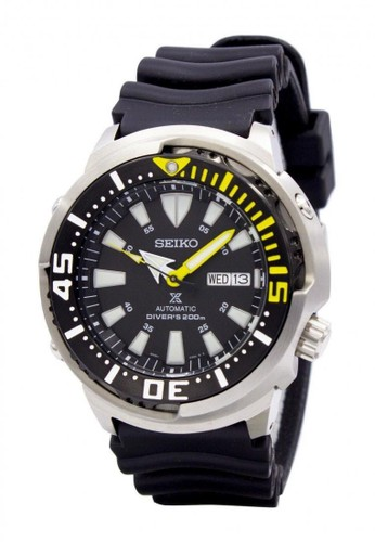Seiko black Jam Tangan Pria Seiko Divers Original Garansi Resmi Strap Rubber Black SRP639K1 SRP639 black 7C416ACD2FF62BGS_1