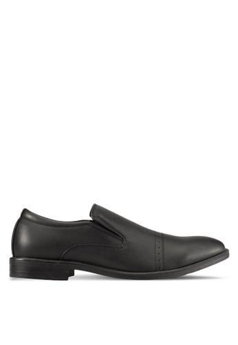 Knight 黑色 Slip On Dress Shoes KN875SH0S9RMMY_1