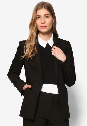 Esseesprit門市ntial 單鈕西裝外套, 服飾, 外套