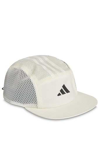ADIDAS black and white and beige adidas 5panel power cap CF603AC455DEC5GS_1