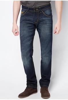 Boy Denim Easy Fit with Embro Back Pocket Pants