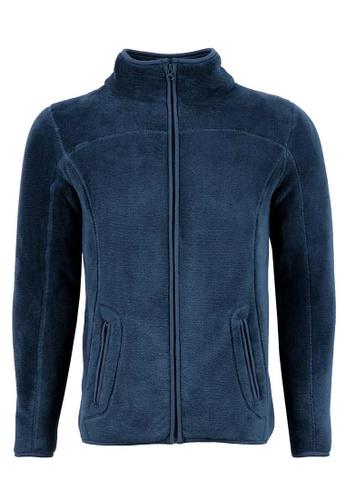 Universal Traveller navy Universal Traveller Adult Unisex Fleece Jacket / SWEATER - NAVY- FJ 5601 UN858AA0RBR0MY_1