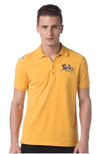 POLO HAUS yellow Polo Haus - Polo Tee  (YELLOW) PO783AA88MNRMY_1