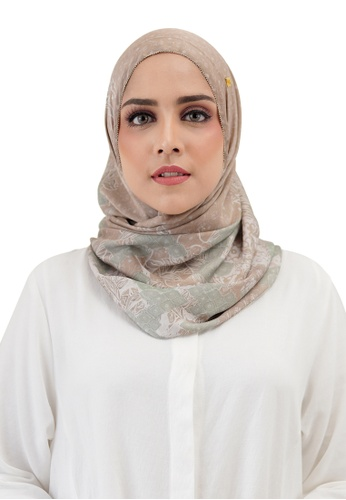 Buttonscarves brown Buttonscarves Maharani Twistant Khaki 99704AA86548CDGS_1